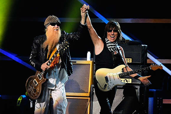 ZZ Top & Jeff Beck at St Augustine Amphitheatre