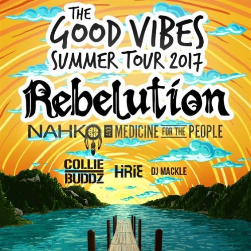 Rebelution, Nahko and Medicine For The People & Collie Buddz at St Augustine Amphitheatre