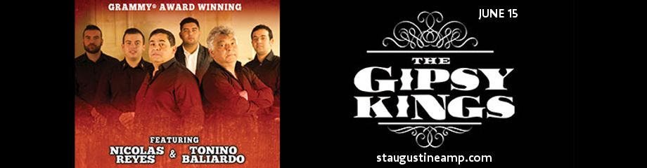 The Gipsy Kings at St Augustine Amphitheatre