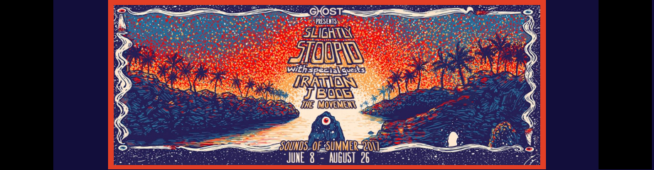 Slightly Stoopid, Iration & J Boog at St Augustine Amphitheatre
