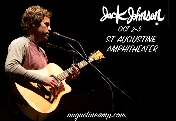 Jack Johnson at St Augustine Amphitheatre