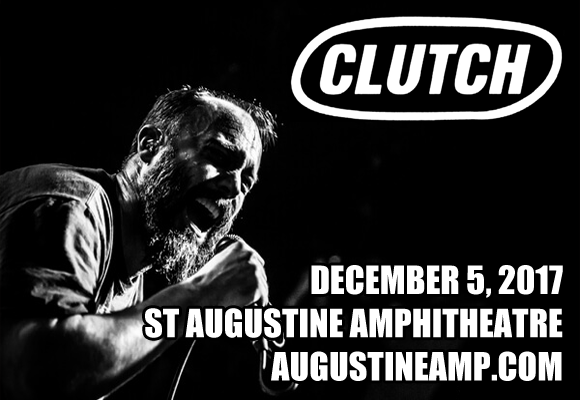 Clutch at St Augustine Amphitheatre