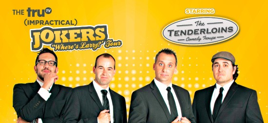 Cast of Impractical Jokers & The Tenderloins at St Augustine Amphitheatre