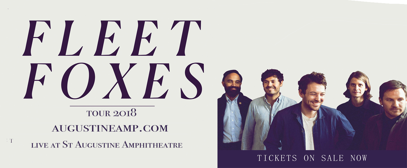 Fleet Foxes at St Augustine Amphitheatre