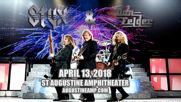 Styx & Don Felder at St Augustine Amphitheatre