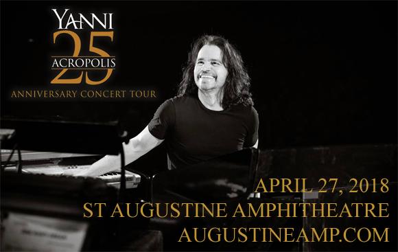 Yanni at St Augustine Amphitheatre
