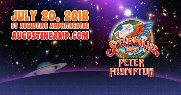 Steve Miller Band & Peter Frampton at St Augustine Amphitheatre