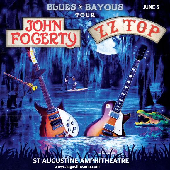 John Fogerty & ZZ Top at St Augustine Amphitheatre