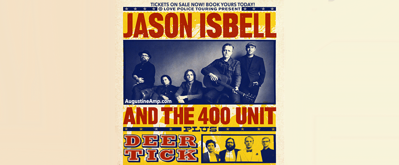 Jason Isbell and The 400 Unit & The Decemberists at St Augustine Amphitheatre