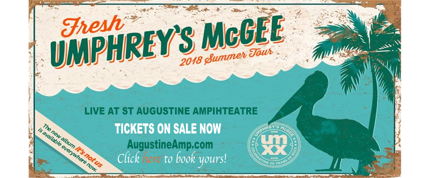 Umphrey's McGee at St Augustine Amphitheatre