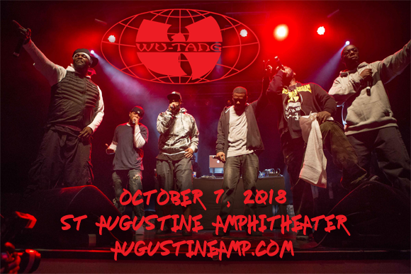 Wu-Tang Clan at St Augustine Amphitheatre