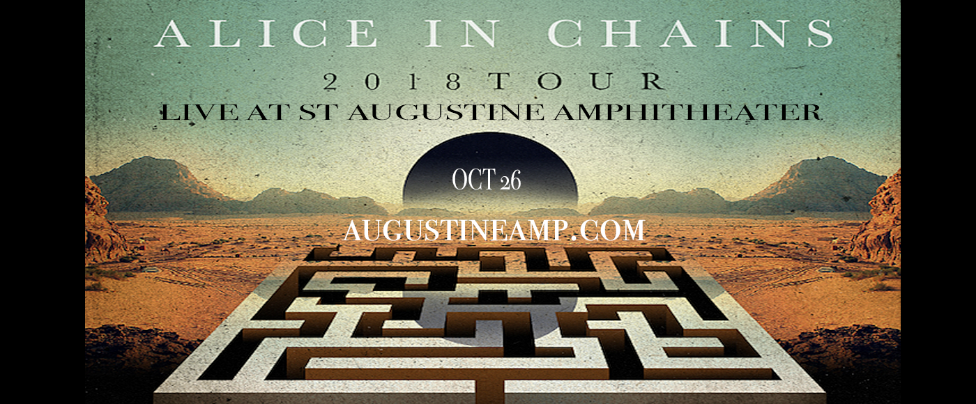 Alice In Chains at St Augustine Amphitheatre