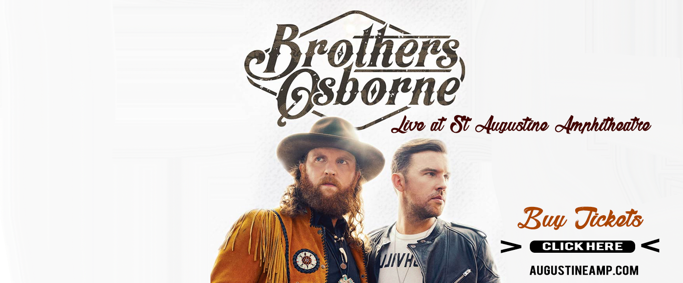 Brothers Osborne at St Augustine Amphitheatre