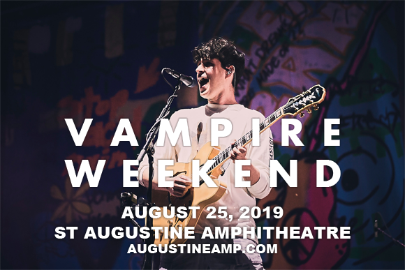 Vampire Weekend at St Augustine Amphitheatre