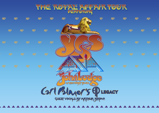 The Royal Affair: Yes, Asia, John Lodge & Carl Palmer's ELP Legacy at St Augustine Amphitheatre