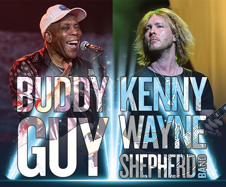 Buddy Guy & Kenny Wayne Shepherd Band at St Augustine Amphitheatre