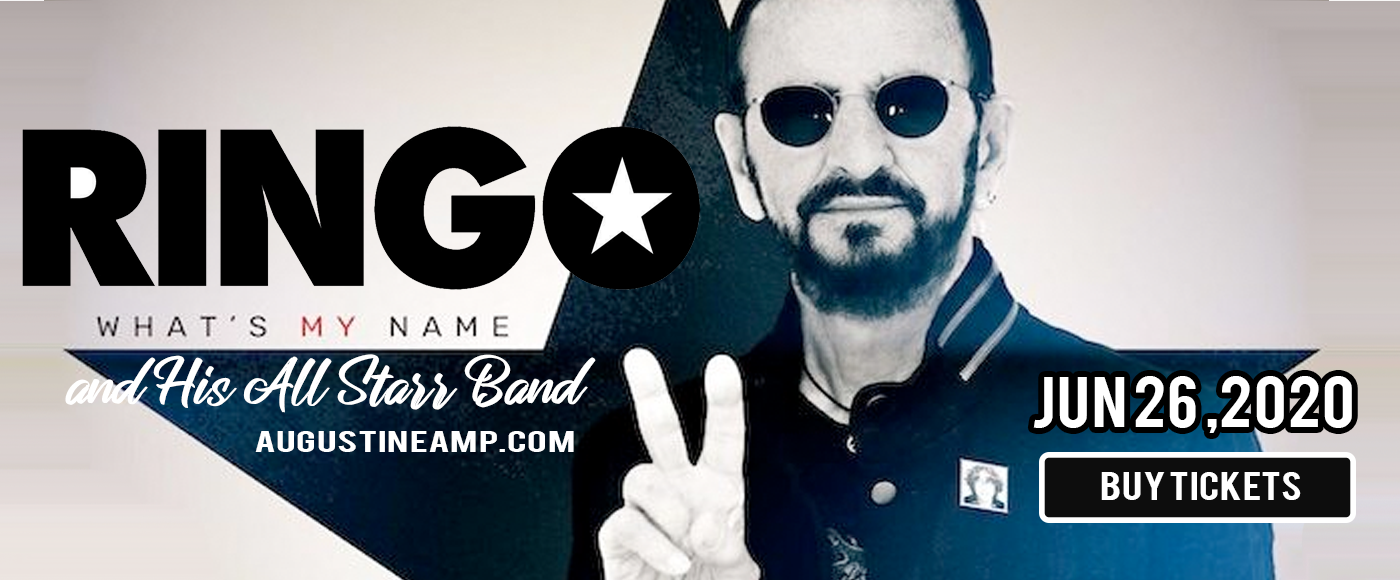 Ringo Starr and His All Starr Band at St Augustine Amphitheatre