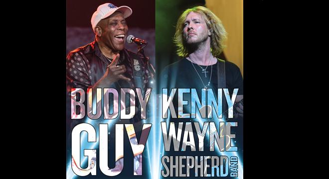 Buddy Guy & Kenny Wayne Shepherd Band at St Augustine Amphitheatre