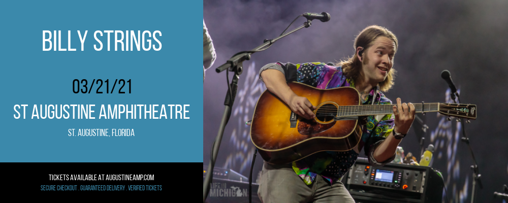 Billy Strings at St Augustine Amphitheatre