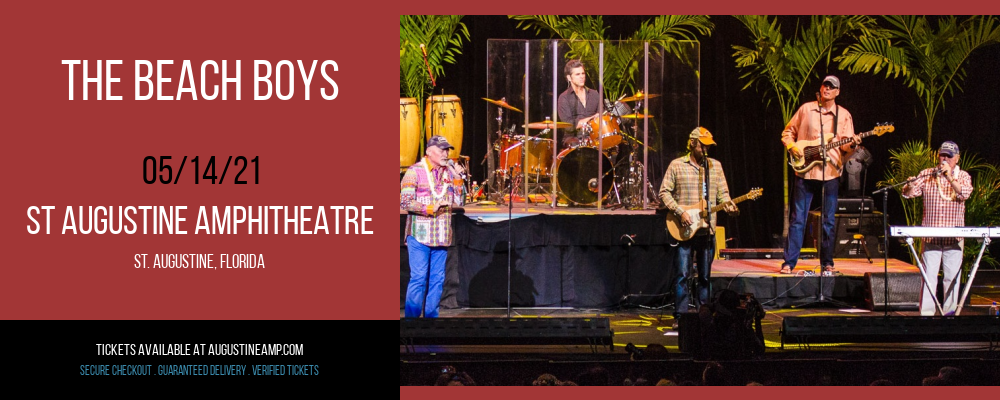 The Beach Boys at St Augustine Amphitheatre