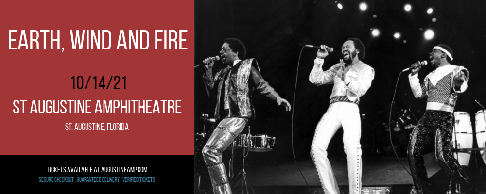 Earth, Wind and Fire at St Augustine Amphitheatre
