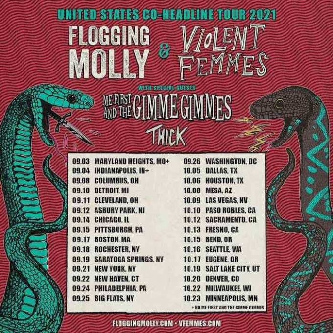 Flogging Molly at St Augustine Amphitheatre