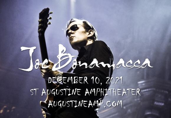 Joe Bonamassa at St Augustine Amphitheatre