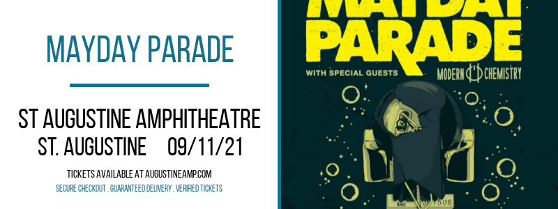 Mayday Parade at St Augustine Amphitheatre