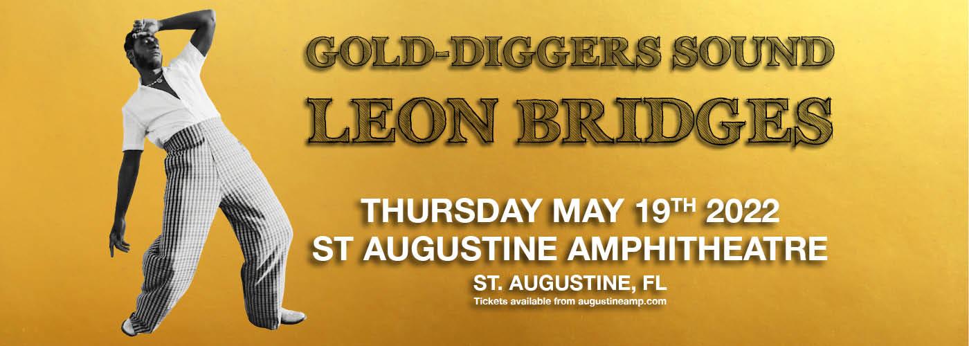 Leon Bridges at St Augustine Amphitheatre