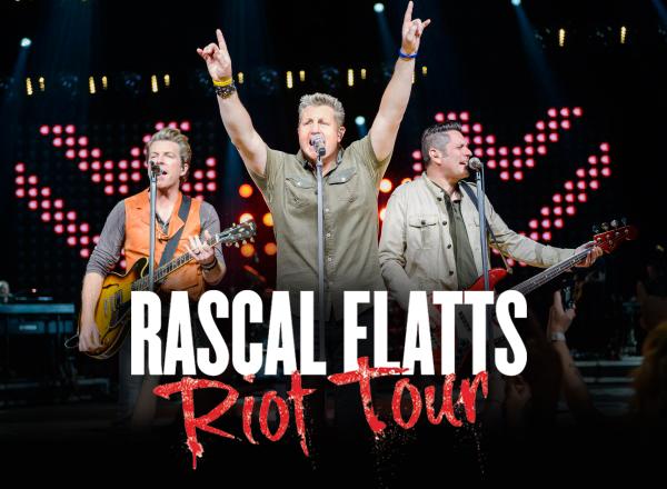 Rascal Flatts 'Riot; tour at St Augustine Amphitheatre