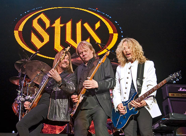 Styx, .38 Special & The Outlaws at St Augustine Amphitheatre