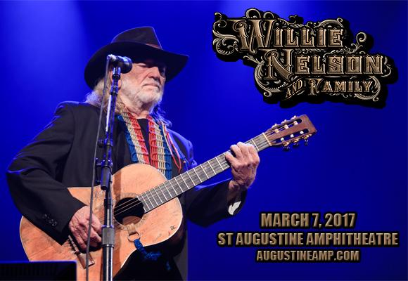 Willie Nelson at St Augustine Amphitheatre