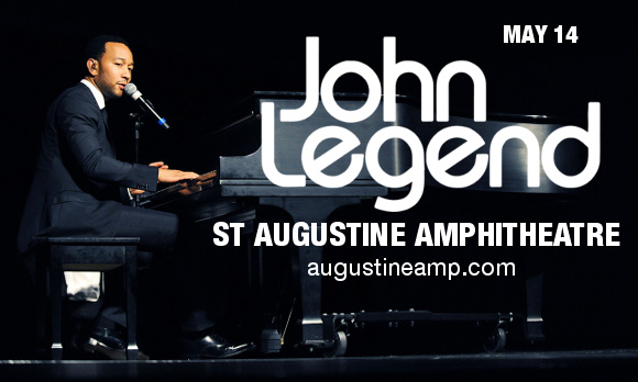 John Legend at St Augustine Amphitheatre