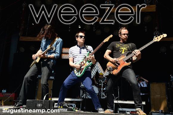 Weezer at St Augustine Amphitheatre