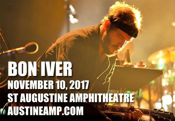 Bon Iver at St Augustine Amphitheatre