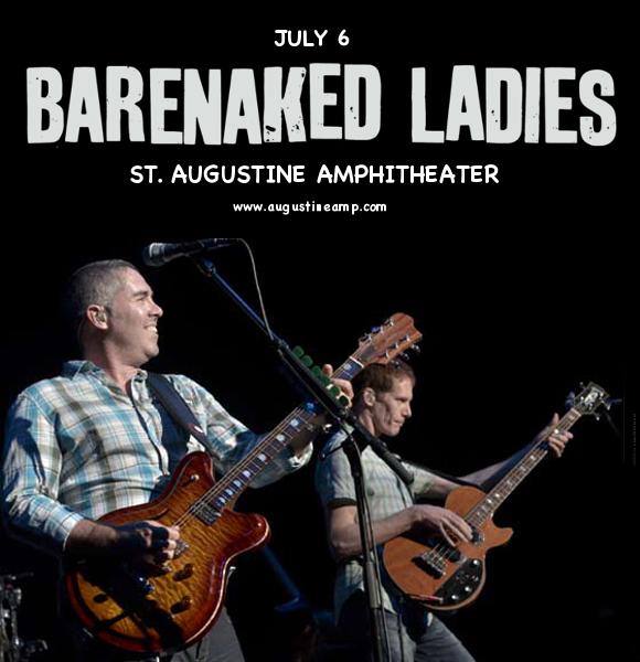 Barenaked Ladies at St Augustine Amphitheatre