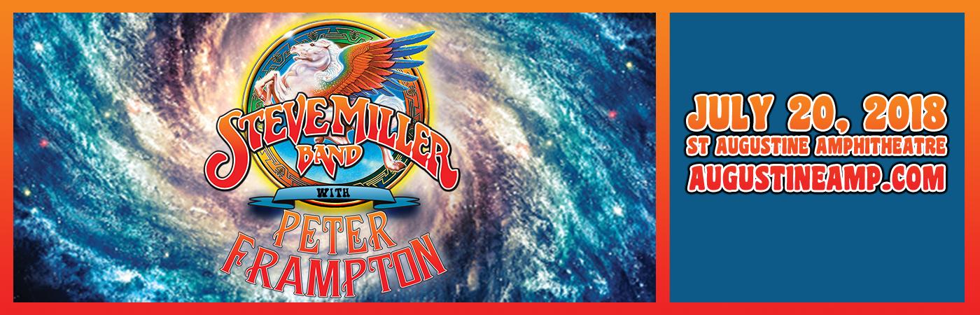 Steve Miller Band & Peter Frampton at St Augustine Amphitheatre
