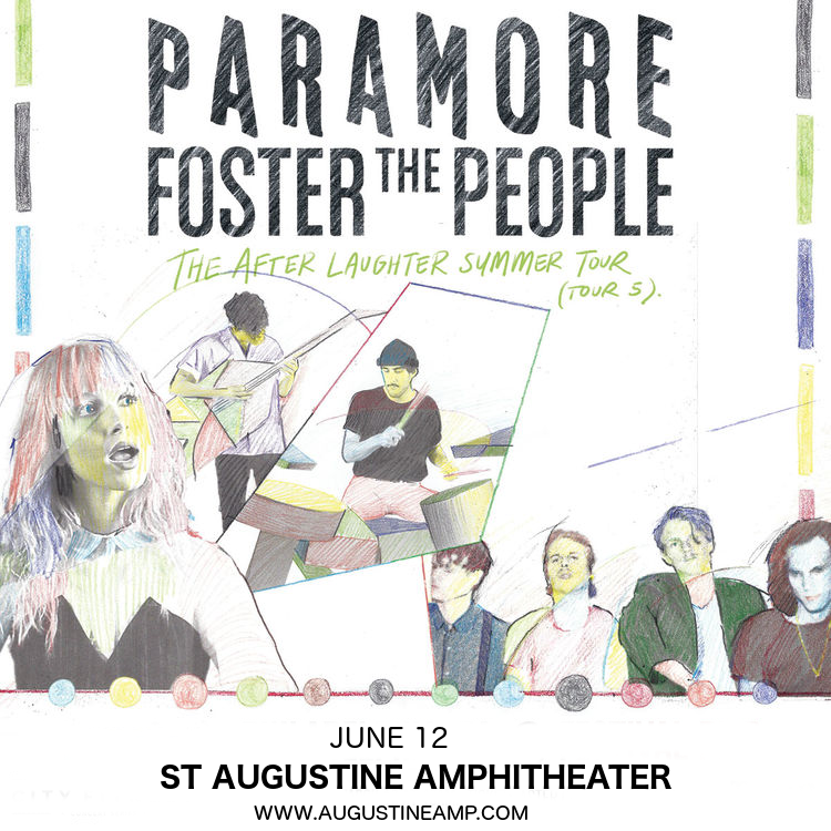 Paramore & Foster The People at St Augustine Amphitheatre