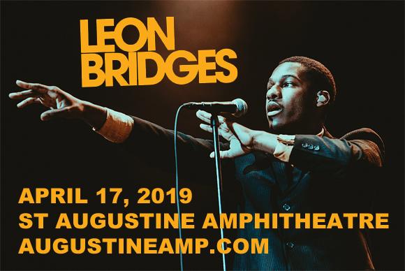 Leon Bridges & Jess Glynne at St Augustine Amphitheatre