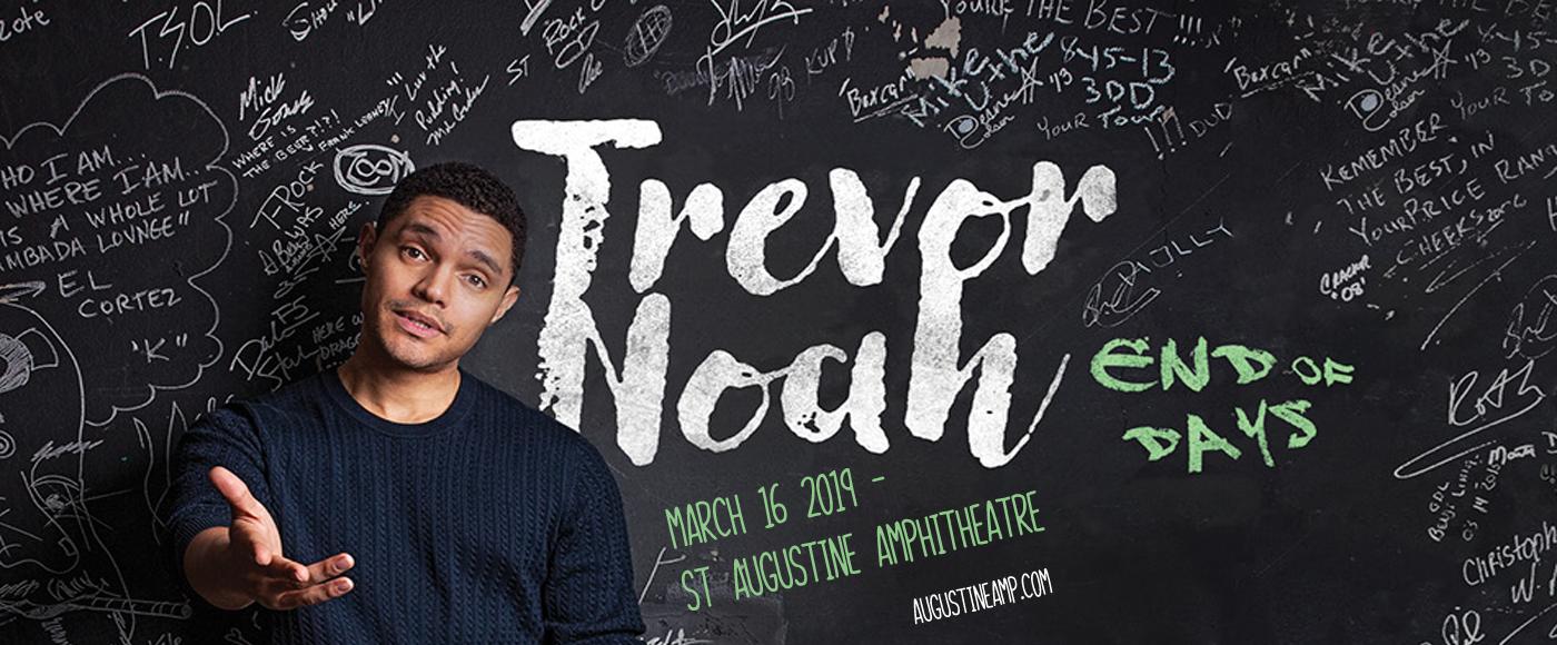 Trevor Noah at St Augustine Amphitheatre
