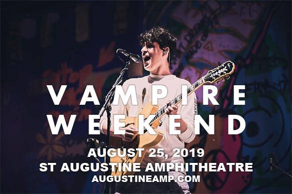 Vampire Weekend at St Augustine Amphitheatre