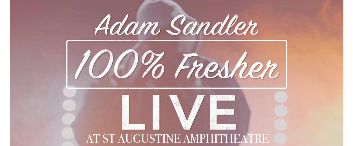 Adam Sandler at St Augustine Amphitheatre