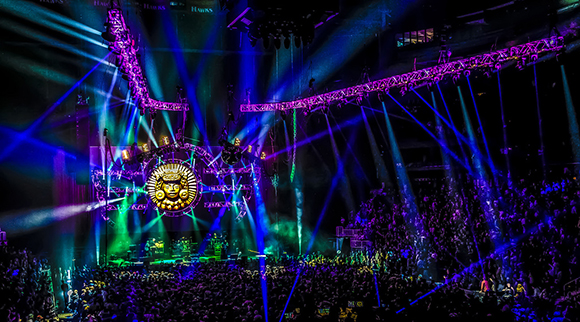 Widespread Panic at St Augustine Amphitheatre
