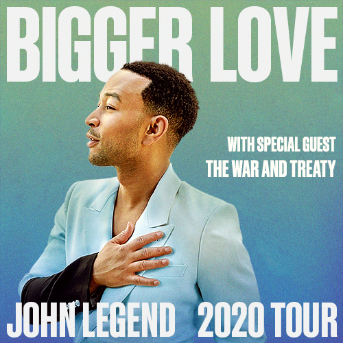 John Legend & The War and Treaty at St Augustine Amphitheatre