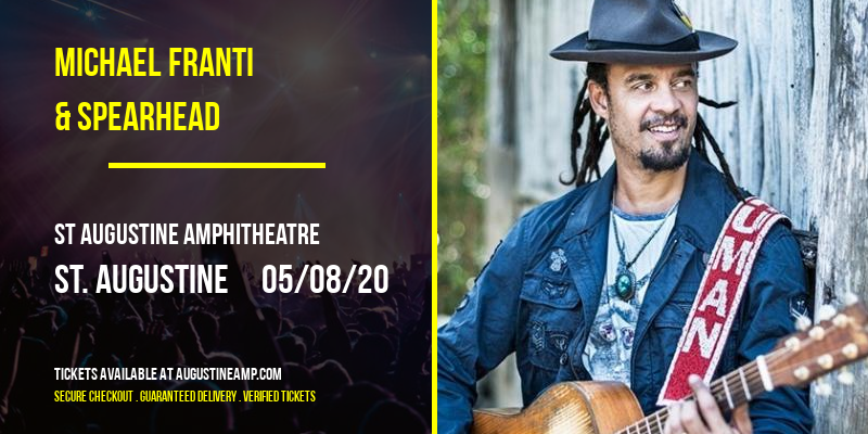 Michael Franti & Spearhead [CANCELLED] at St Augustine Amphitheatre