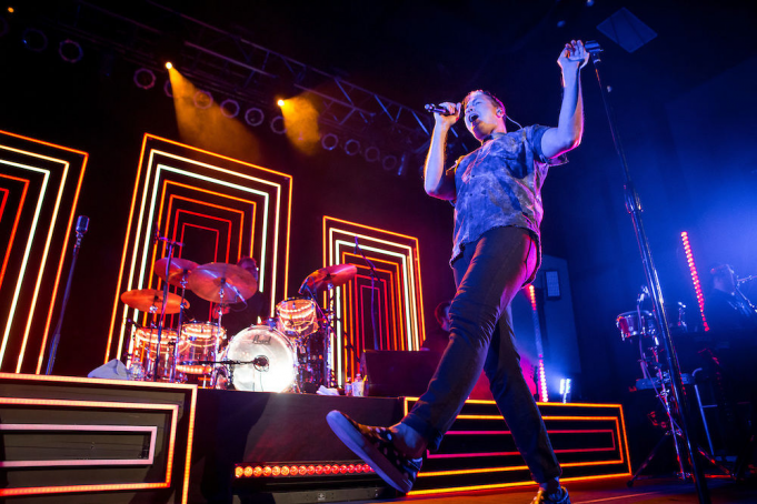 Fitz and The Tantrums at St Augustine Amphitheatre