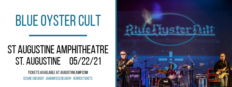 Blue Oyster Cult at St Augustine Amphitheatre