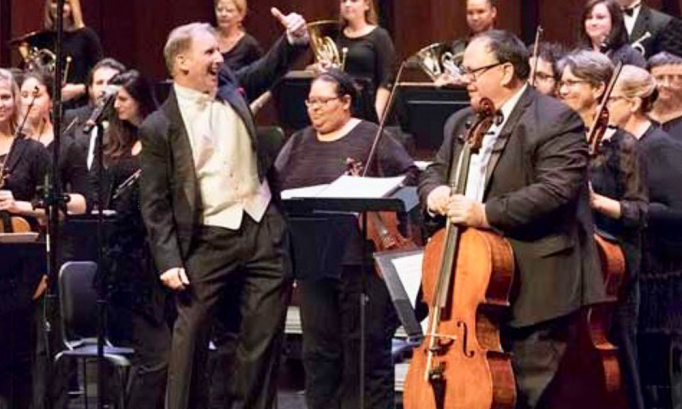 The Gainesville Orchestra at St Augustine Amphitheatre