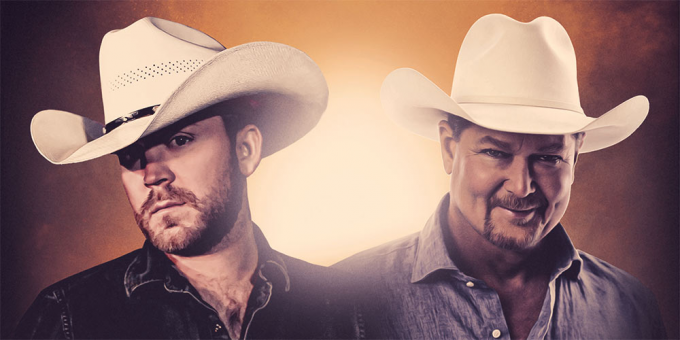 Justin Moore & Tracy Lawrence at St Augustine Amphitheatre