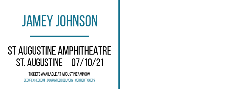 Jamey Johnson at St Augustine Amphitheatre